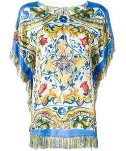 Dolce & Gabbana | Majolica Print Top