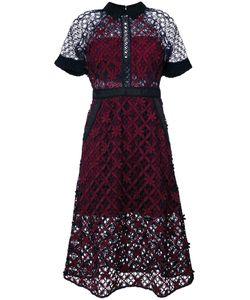 SELF-PORTRAIT | Платье С Цветочной Сеткой