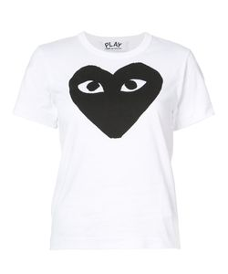 Comme des Gar ons Play | Heart Print T-Shirt Women
