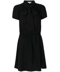 Michael Michael Kors | Flared Tie Neck Dress