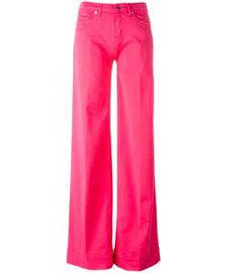 Love Moschino | Wide Leg Trousers 27 Cotton/Spandex/Elastane