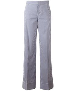 Dsquared2 | Pinstripe Wide Trousers 38 Cotton/Polyamide/Spandex/Elastane