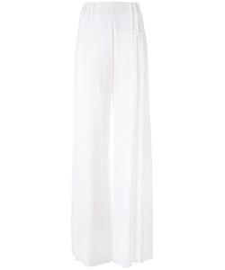 CAPUCCI   Wide Leg Trousers 40 Acetate/Viscose/Spandex/Elastane