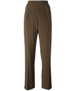 No21 | Relaxed Straight Trousers 40 Acetate/Silk