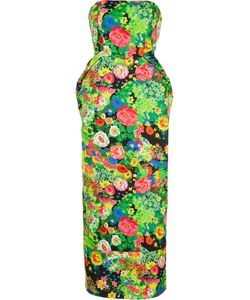Rosie Assoulin | Print Strapless Dress Size 4