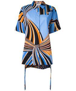 Emilio Pucci   Printed Shirt 40 Cotton/Spandex/Elastane