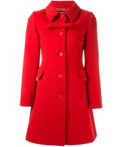 BOUTIQUE MOSCHINO | Приталенное Пальто С Бантом
