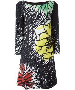 BOUTIQUE MOSCHINO | Платье-Шифт С Цветочным Принтом