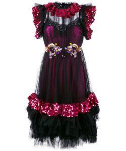 Dolce & Gabbana | Sequin Embellished Dress