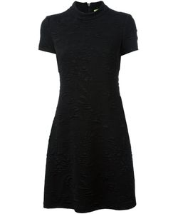 Versace Jeans | Embroidery Detail Dress 40 Polyester/Spandex/Elastane/Viscose