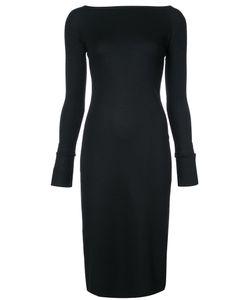 Helmut Lang | Платье С Вырезом-Лодочка