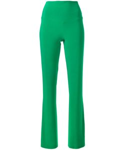 Norma Kamali | Stretch Boot Leg Trousers