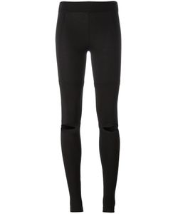 Y-3 | Cut Out Leggings Xs Cotton/Spandex/Elastane