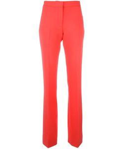 Victoria, Victoria Beckham   Victoria Victoria Beckham Tailo Fla Trousers 12 Wool/Spandex/Elastane/Nylon