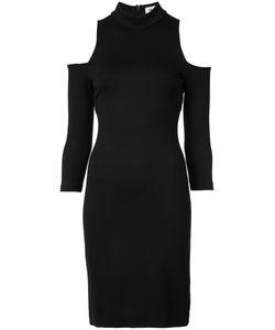 L'Agence | Cut-Out Shoulders Turtleneck Dress Medium Polyester/Spandex/Elastane/Viscose