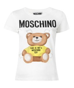 Moschino | Teddy Print T-Shirt 42 Cotton