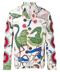 WALTER VAN BEIRENDONCK VINTAGE | Walter Van Beirendonck Cut-Out Detail Blazer Size 50
