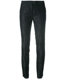 Christian Pellizzari | Tapered Jacquard Trousers Size 40