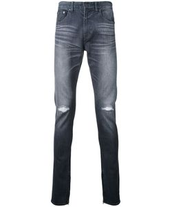 Monkey Time | Distressed Skinny Jeans Medium Cotton