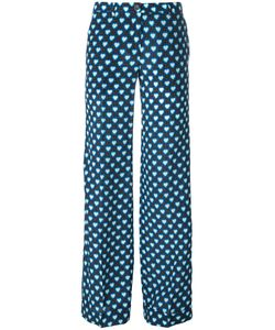 Miu Miu | Hearts Print Flared Pants Size 42