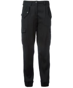 BOUTIQUE MOSCHINO | Tapered Cuffs Cropped Trousers Size 42