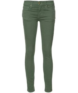 THE GREAT | Super Skinny Cropped Jeans 27 Cotton/Spandex/Elastane