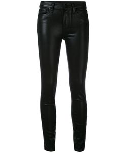 Paige | Hoxton Coated Cropped Jeans