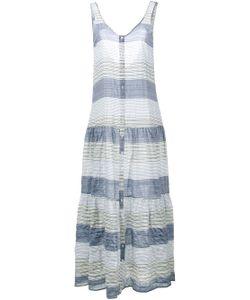 Lisa Marie Fernandez | Sleeveless Stripe Midi Dress