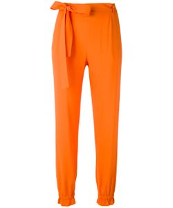MSGM | Elasticated Cuffs Tapered Trousers