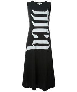 Mcq Alexander Mcqueen | Logo Print Midi Dress Medium