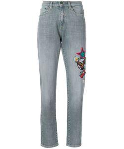 Mira Mikati   Scout Patch Jeans