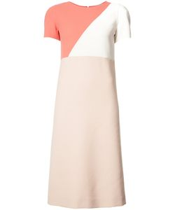 Agnona | Colour Block Midi Dress 40 Wool/Spandex/Elastane