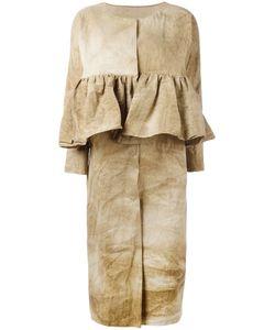 UMA WANG | Chikelu Ruffled Coat Size Medium