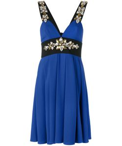 STEFANO DE LELLIS | Embellished Pleated Dress