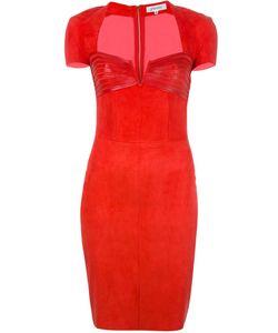 Jitrois | Panelled Sweetheart Neck Dress 38 Lamb Skin/Cotton/Spandex/Elastane