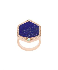 JO LLE JEWELLERY | Lapis And Diamond Set Ring Women