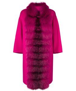 Ermanno Scervino | Fur Trim Coat