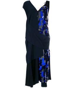 Diane Von Furstenberg | Вечернее Платье С Драпировкой И Пайетками