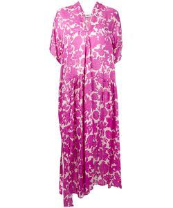Christian Wijnants | Print Asymmetric Dress