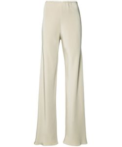 PETER COHEN | Elasticated Waistband Trousers Medium Silk
