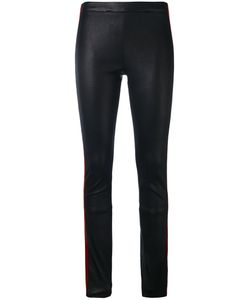 Haider Ackermann | Striped Leather Leggings Size 40