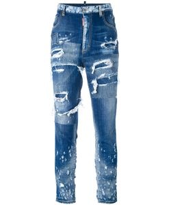 Dsquared2 | Distressed Skinny Jeans 40 Cotton/Spandex/Elastane/Polyester