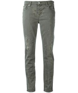 Hudson | Distressed Jeans 30 Cotton/Spandex/Elastane