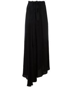 Ann Demeulemeester | Draped Tie-Waist Trousers Size 36