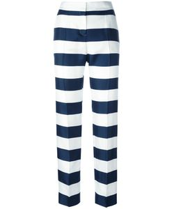 Dolce & Gabbana | Wide-Striped Trousers 38 Silk