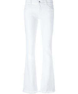 THE SEAFARER   Distressed Hem Jeans 24 Cotton/Spandex/Elastane