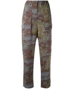 Vanessa Bruno Athe' | Printed High Waisted Trousers