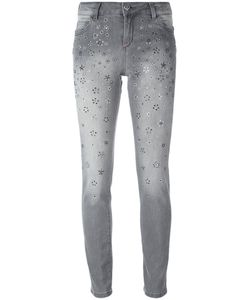 Twin-set | Studded Skinny Jeans 32 Cotton/Spandex/Elastane/Crystal