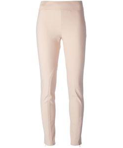 Stella Mccartney | Zip Fastening Slim Trousers 44 Cotton/Elastodiene/Polyamide/Spandex/Elastane