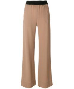 Veronique Leroy | Elastic Waistband Flared Trousers Women